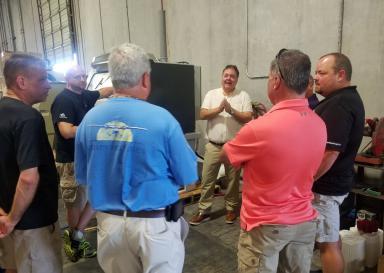 Surface Preparation Solutions Visit - Texas