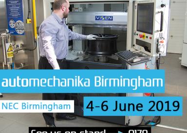 Vixen to attend Automechanika Birmingham 2019